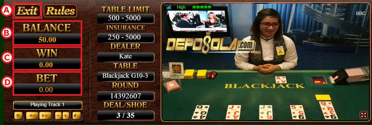 cara bermain blackjack 3