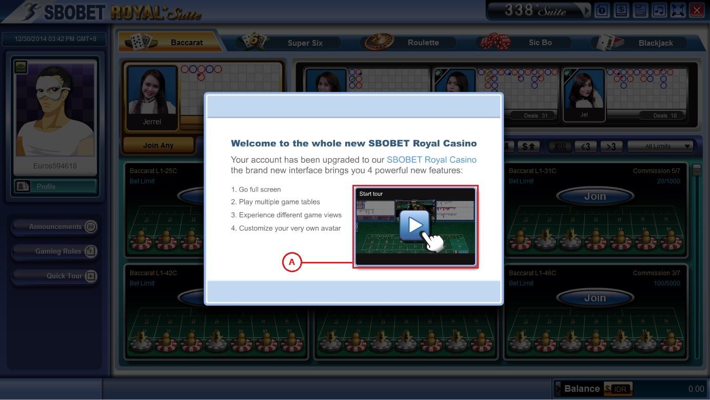 Gambar 5 - Panduan Cara Login Sbobet Casino
