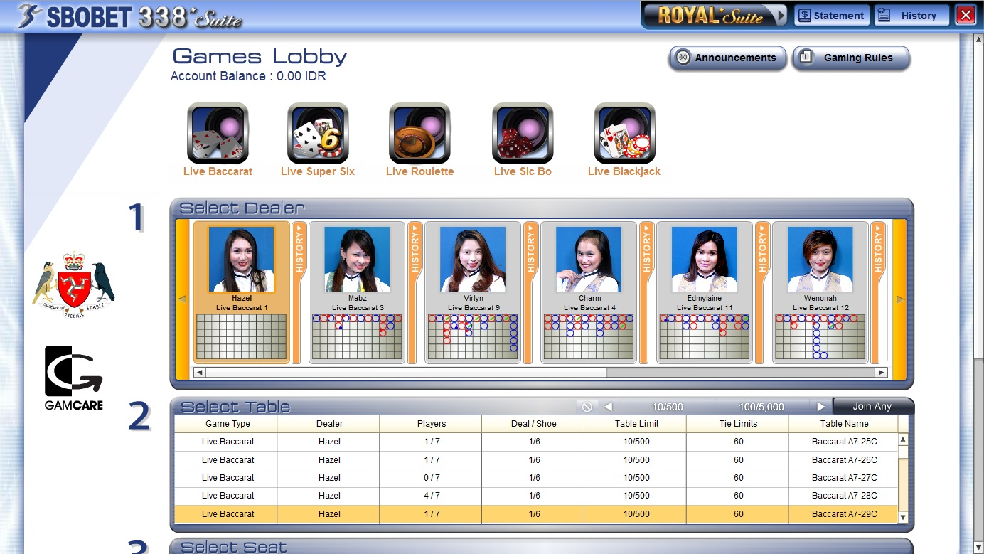 Gambar 8 - Panduan Cara Login Sbobet Casino