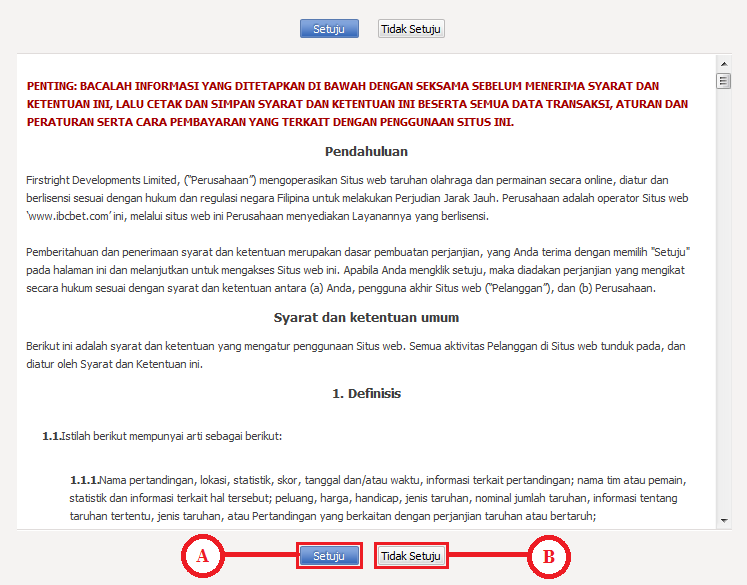 gambar 2 - panduan cara melakukan login ibcbet maxbet