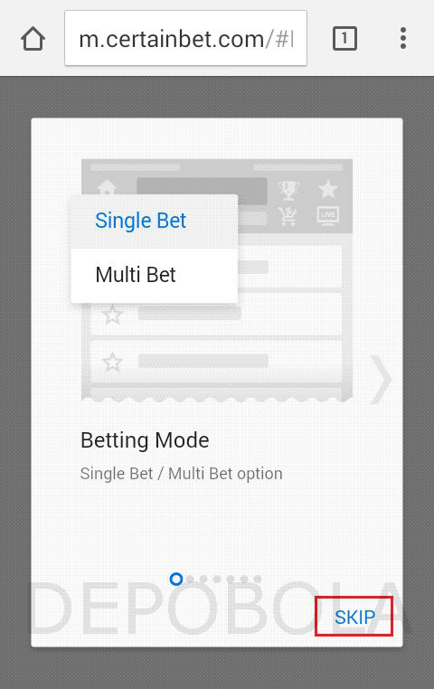 cara login ibcbet mobile 2