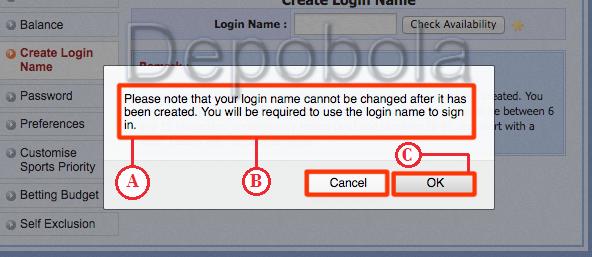 Harap Menggunakan Login Name Untuk Akses Masuk Kedalam Situs Sbobet