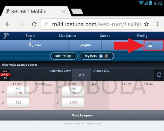 cara melihat statement sbobet mobile 1