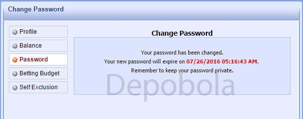 cara ubah password 338a 4