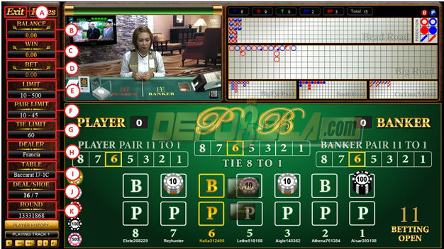 live baccarat sbobet casino